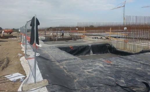 Vasche per fondazione capannoni
